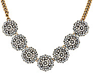 BaubleBar Crystal Dandelion Collar Necklace - J322353