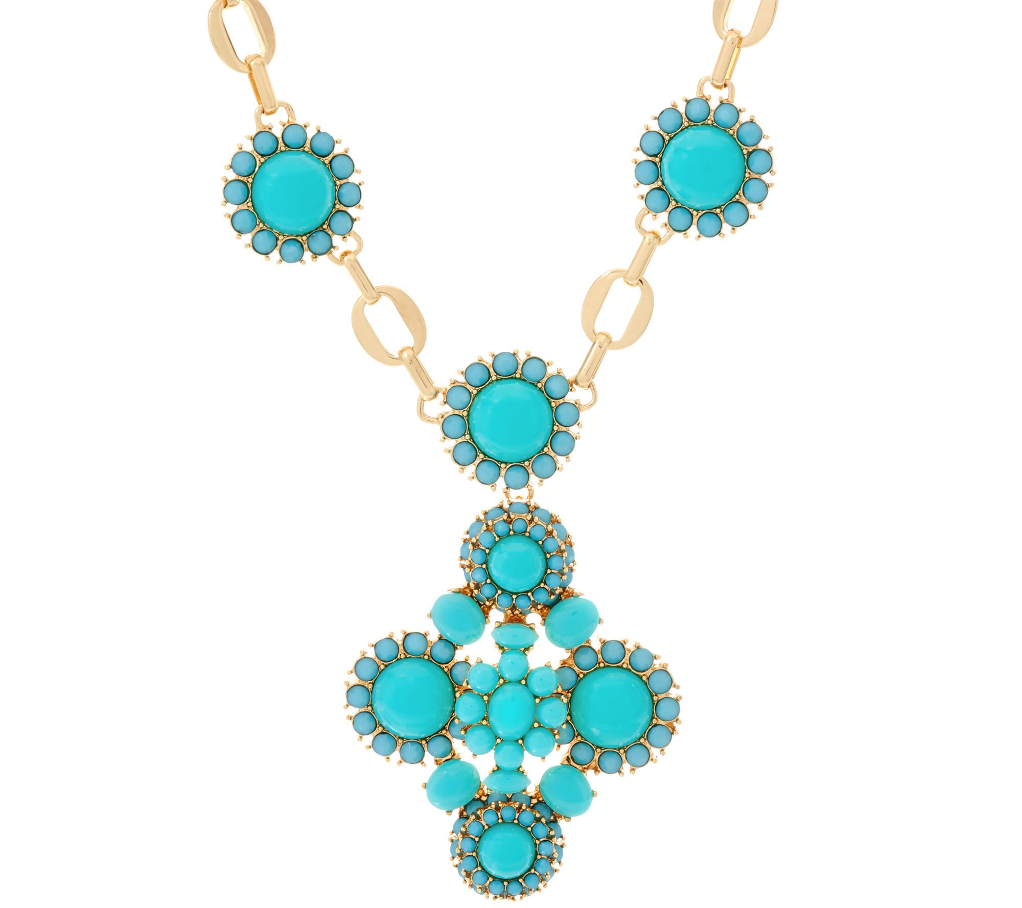 Joan rivers moroccan dreams pendant necklace w 3 for Joan rivers jewelry necklaces