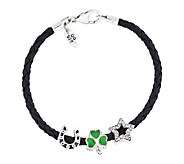 Prerogatives Sterling Lucky Bead Bracelet Set - J337653