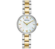 Bulova Ladies Classic Stainless Steel BraceletWatch - J343953