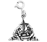 Sterling Silver Nativity Scene Charm - J344953