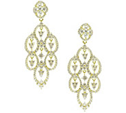 Judith Ripka Sterling & 14K Clad Diamonique Drop Earrings - J345153