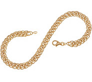 14K Gold 8 Wheat Chain Bracelet, 2.4g - J350553