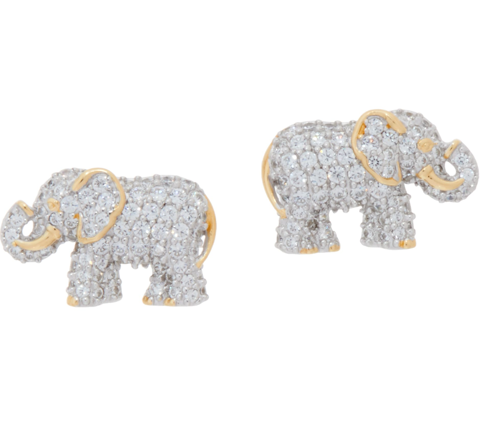 evan y stud elephant mini yellow gold earrings diamond sydney