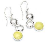 Novica Artisan Crafted Sterling Bubbling Dangle Earrings - J298554