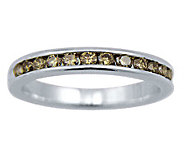 Champagne Diamond Ring, Sterling, 1/2 cttw, by Affinity - J307654