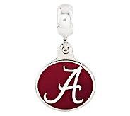 Sterling Silver University of Alabama Dangle Bead - J314954