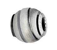 Prerogatives Sterling Laser-Cut Swirl Bead - J315254