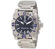 Wrist Armor Swiss Quartz Tritium Watch - Blue Dial w/ Steel - J315454