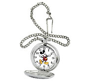 Disney Mens Mickey Pocket Watch - J315554