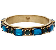LOGO Links by Lori Goldstein Prong Set Stone Bangle - J326654