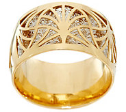 Dieci Diamond Cut Two-Tone Ring, 10K Gold - J332254