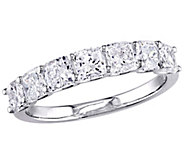 Affinity 14K 1.65 cttw Cushion-cut Diamond 7-Stone Band Ring - J381354