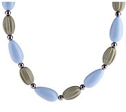 Joan Rivers Sculpted Bead 32 Necklace w/3 Extender - J159055