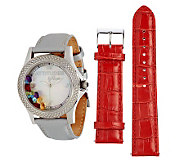 Attitudes by Renee 2.25 ct tw Multi-gemstone Watch - J264255