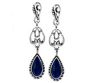 Carolyn Pollack Essentials Pear Drop Gemstone Earrings - J271055