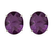 Sterling 4.10 cttw Fancy Cut Gemstone Stud Earrings - J304655