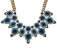 Joan Rivers Crystal Royalty Statement Necklace w/ 3 Extender - J324255