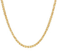 14K Gold 54 Dimensional Byzantine Chain Necklace, 18.6g - J324655