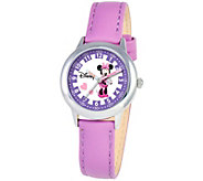 Disney Minnie Mouse Girls Stainless Steel Watch - J342255