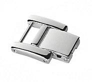 Ecclissi Silvertone Stainless Steel Watch Extender Clasp - J342655