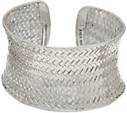 EXEX by Claudia Agudelo Sterling Silver Woven Cuff - J350855