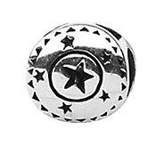 Prerogatives Sterling Circle with Stars Bead - J109156