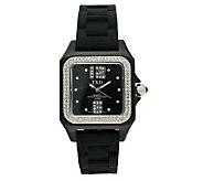 TKO Ladies Riviera Ice Polycarbonate Strap Watch - J109556