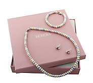 Honora Girls Candy Colored Box Cultured Freshwater Pearl Set - J111856