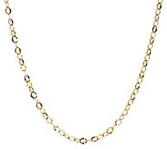 20 Hammered Oval Link Chain, 14K Gold 1.8g - J307856