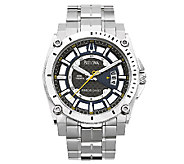 Bulova Mens Precisionist Stainless Steel Watch - J316456