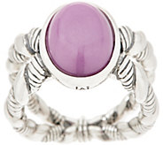 JAI Sterling Silver & Gemstone Criss-Cross Ring - J354956