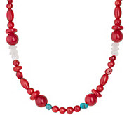 Carolyn Pollack 32 Sterling Beaded Possibilities Necklace - J378356