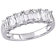 Affinity 14K 1.75 cttw Emerald-Cut 7-StoneDiamond Ring - J381356