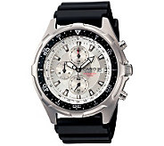 Casio Mens Ana-Digi Dive Resin Strap Watch - J106957