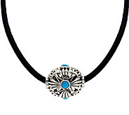 Kenneth Johnson Sleeping Beauty Turquoise Spirit Bead Necklace - J290857