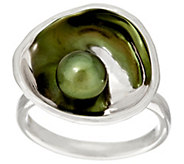 Hagit Reflections Cultured Pearl Sterling Ring - J297057