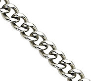 Stainless Steel 22 Curb Chain Necklace - J305757