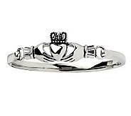 Stainless Steel Claddagh Bangle - J306557