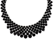 LOGO Links by Lori Goldstein Crystal Collar Necklace - J319457
