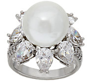 The Elizabeth Taylor South Sea-Style Simulated Pearl Ring - J319857