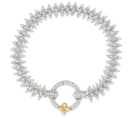 Barbara Bixby Sterling & 18K Rhodium Eastern Chain