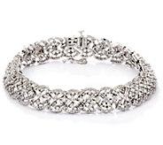 Estate Style 7-1/4 Diamond Bracelet, 14K, 5.10 cttw, by Affinity - J330557