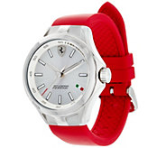Ferrari Womens Red Silicone Strap Donna Watch - J334357