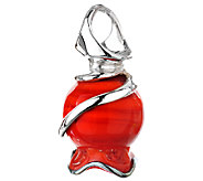 Kalos by Hagit Sterling Pomegrante Glass Pendant - J338057