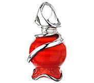 Kalos by Hagit Sterling Pomegrante Glass Pendant - J338057
