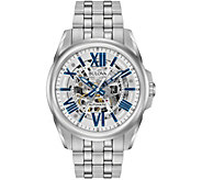 Bulova Mens Automatic Stainless Steel Watch - J343857