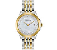 Bulova Ladies Diamond Accent Watch - J343957