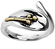 Hagit Sterling & 14K Gold Ring - J344757