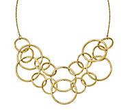 14K Gold Round Link 17 Necklace, 18.0g - J344857